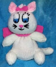 KNITTING PATTERN - Marie the cat inspired chocolate orange cover / 16 cms toy