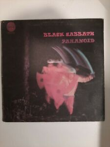 BLACK SABBATH-PARANOID-1970 AUS VERTIGO SWIRL VINYL RECORD- FULLY PLAY TESTED.