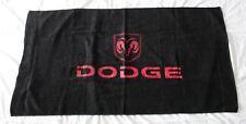 NEW DODGE BEACH BATH TOWEL flag bag durango nigro viper dakota journey