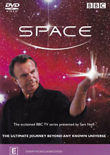 Space - Complete Series - DVD (2001) Sam Neill DOCUMENTARY - ALMOST 3 HOURS !!