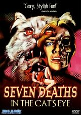 Seven Deaths in the Cats Eye (1973) DVD [REGION FREE - US IMPORT] - LIKE NEW