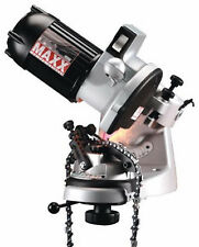 MAXX Professional Bench Grinder Chainsaw Chain Sharpener- bi-directional