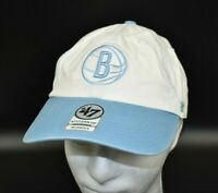 Brooklyn Nets '47 Brand NBA Women's Light Blue & White Strapback Cap Hat