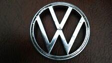 Genuine Original Volkswagen VW Beetle Bonnet Badge 3 Pin Alloy