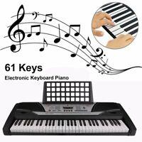 61-Key Digital Music Piano Keyboard - Portable Electronic Musical Instrument SS