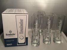Krombacher Glas / Gläser Star Cup 0,4 L im 6 er Karton