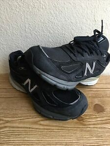 New Balance 990V4 Black Sneaker Men's SIze 9.5  (Made In USA)  Pre-Owned