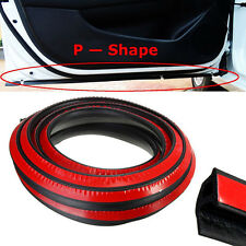 8M Big D-Shape Moulding Trim Rubber Strip Car Door Edge Seal Weather-strip EPDM