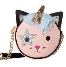 Betsey Johnson KITSCH Chloe Kitty Cat Unicorn Crossbody Bag NWT Canteen