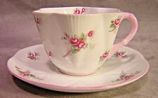 Shelley China Cup and Saucer ~ Rose Sprays ~ Dainty Shape