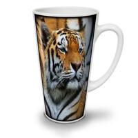 Tiger Photo Wild NEW White Tea Coffee Latte Mug 12 17 oz | Wellcoda