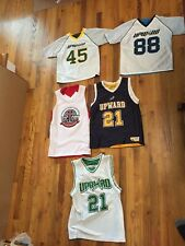 Lot of 5 Upward Reversible Basketball And Football Jersey Size Yl & Ym Blue