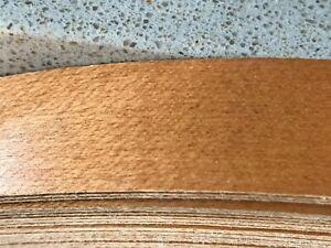 "13/16"" Danish Maple,Fleeced,Sanded,Stained,UV Coat,Pre Glued Veneer Edge Band 25"