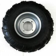 "2X 18x9.5-8"" inch Rear Wheel(tubeless knobby tyre+rim) ATV Quad Buggy Ride Mower"