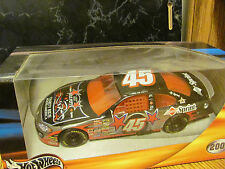 "Kyle Petty - 2001 #45 - ""7th Annual Charity Ride Across America""-1:24 Hot Wheels"
