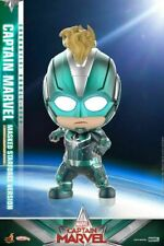 Hot Toys Cosbaby Captain Marvel COSB544 Masked Starforce Ver. Anime Model Toys