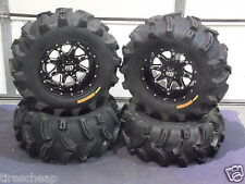 "27"" EXECUTIONER ATV TIRE & STI HD4 WHEEL KIT COMPLETE - LIFETIME WARRANTY POL3CA"