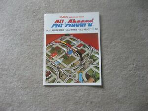 1966 AMERICAN FLYER TRAINS ALL ABOARD CATALOG M6788 NEAR MINT