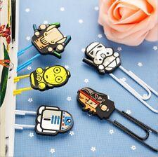 New Star wars series Bookmarks Cartoon paper clip holder stationery office Schoo