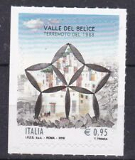 Italia 2018 Velle del Belice terremoto del 1968 Mnh