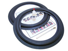 2 Realistic Mach I Speaker Foam Surround Repair Kit - Mach 1, Mach One - 2RM1