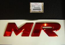 New Genuine Mitsubishi Lancer Evolution MR Badge OEM EVO Real Factory Emblem