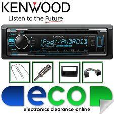 FIAT DUCATO 2006-2014 KENWOOD CD MP3 USB Display Multi Colore KIT STEREO AUTO
