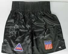 Iron' Mike Tyson 'HOF 2011' Authentic Signed Tyson Model Boxing Trunks PSA ITP