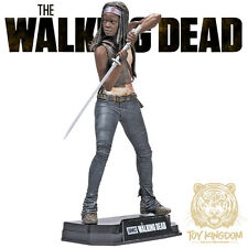 "MICHONNE - Walking Dead TV McFarlane Color Tops 7"" Action Figure - RED WAVE"