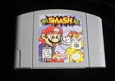 Nintendo N64 Video Game Super Smash Bros. Mario RARE