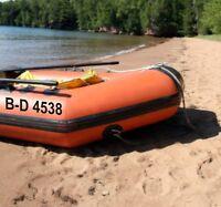 Schlauchbootkennzeichen Bootsnummer 2 Stück FZ2896