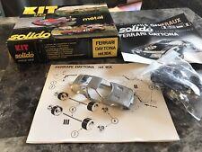 Solido 1:43 1973 Ferrari Daytona 24h. Du Mans Kit. Metal Body