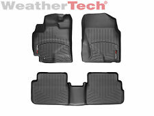 WeatherTech FloorLiner Floor Mat For Corolla/Matrix/Vibe - 1st/2nd Row - Black
