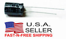 220uF electrolytic capacitor 35v 220 uF radial USA Seller