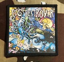Pig Destroyer Printed Patch P031P Misery Index Crossed Out