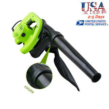 Electric Handheld Leaf Blower W/ Vacuum Shredder Super Leaf Blower【USA】2018