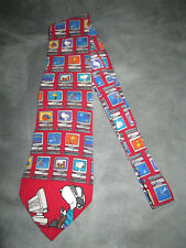 Vintage Snoopy Virtual Employee Peanuts Silk Novelty Tie