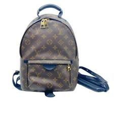 Louis Vuitton Palm Springs PM marrón mochila de lona Monogram