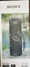 Sony - SRS-XB23 Portable Bluetooth Speaker - Black Extra Bass