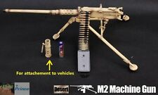 US Militär 1:6 Action-Figur M2 .50 cal Browning Machine Gun Iraq Desert G_8031B