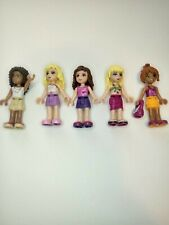 Lego Friends Minifigures Girls  Lot of 5