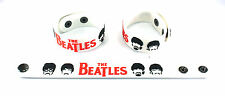 The Beatles NEW! Rubber Bracelet Wristband Free Shipping Words Of Love aa186