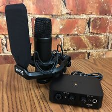 Rode Complete Studio Kit with AI-1 Interface, NT1 Microphone, Shock Mount *MINT*