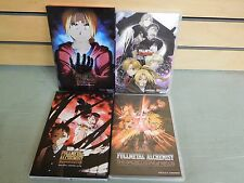 Lot of 4 DVDS Various FULL METAL ALCHEMIST Episodes and Movies (DH764)