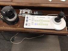 Sony RM-BR300 Remote Control + Sony EVI-D70 PTZ Camera Color NTSC