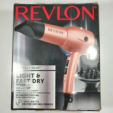 Revlon 1875W Perfect Heat Light & Fast Dry Hair Dryer Styler