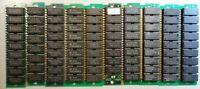 Vintage Rare Assorted 30-pin RAM - OKI SIEMENS CENTURY - lot of ten