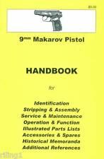 Makarov Pistol Assembly, Disassembly Manual 9mm