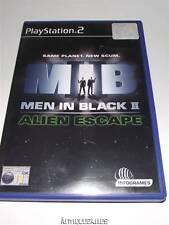 Men in Black II Alien Escape MIB PS2 PAL *Complete*