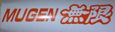 2 X Mugen Stickers Calcomanías Honda Jdm deriva Jap